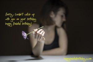 Happy Belated Birthday Wishes