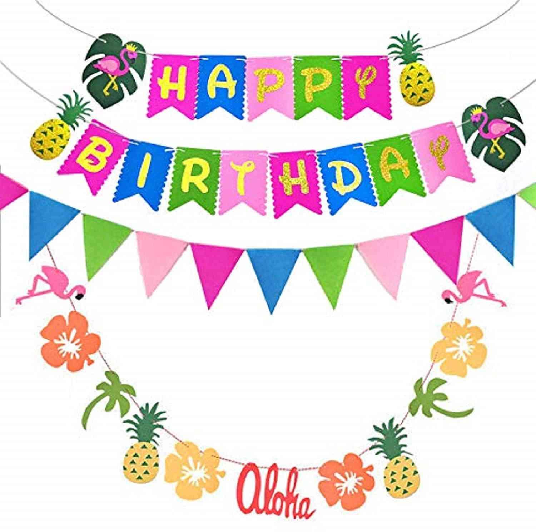 Happy Birthday in Hawaiian